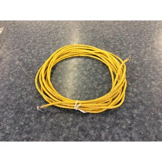 25' Cat 6E Yellow Ethernet Cable