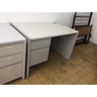 30x45x30 Left Pedestal Light Grey Desk