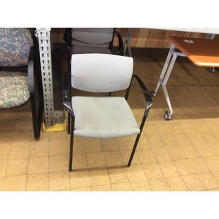 Grey Metal Frame Chair