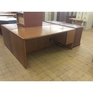 """36x72x30"""" Wood Desk w/ Right Pedestal"""
