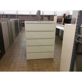"18x42x55 1/2"" 5 Drawer Lateral File Cabinet"