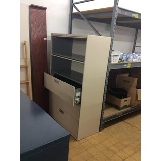 """19 1/4x42x66 3/4"""" 5 Drawer Lateral File Cabinet"""