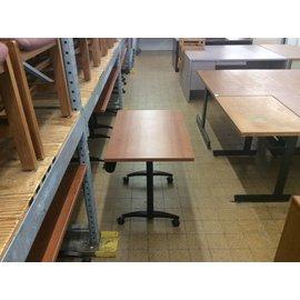 "24x36x29"" Wood Top Table on Castors (4/17/18)"