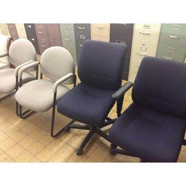 Blue Desk Chair on Castors (4/24/18)