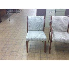 Beige Side Chair w/ Leaf Padding (4/24/18)