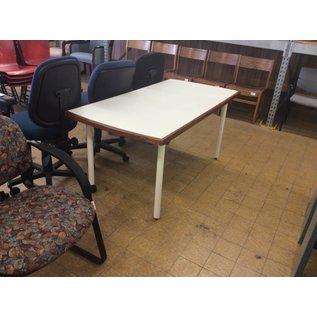 "30x60x27"" White Wood Table (5/8/18)"