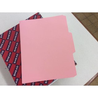 File Folders Pink letter size 1 box (5/14/18)