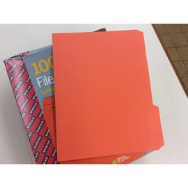 File Folders Orange partial box ltr sz (5/14/18)