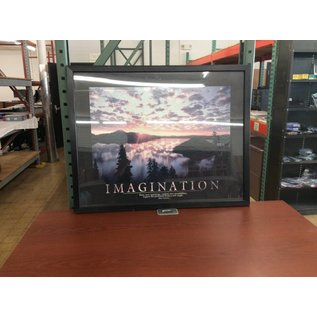 "29 1/2x23 1/2"" Framed Imagination Picture (5/16/18)"