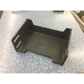 Black plastic double high paper tray (5/21/18)