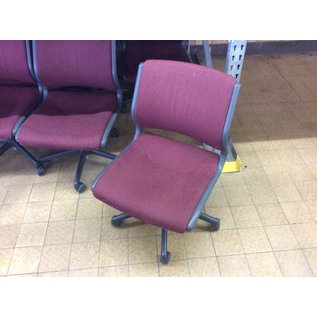Maroon padded desk chair (5/23/18)