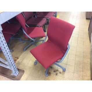 Red padded desk chair (5/23/18)