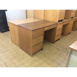 "24x44x30 1/2"" Wood Student Desk (6/5/18)"