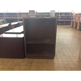 "14x38x52"" Brown Metal Bookcase (6/18/18)"