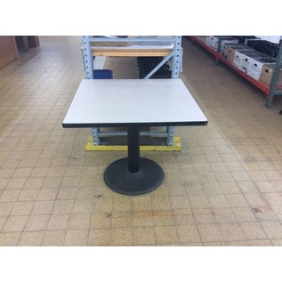 "36x36x30"" Square Table w/ Metal Base (6/11/18)"