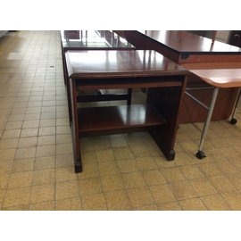 "30 1/2x25x29"" Wood Computer Table (6/12/18)"