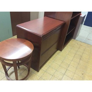 """19x34x29"""" Wood 2 Drawer Lateral File Cabinet (6/13/18)"""