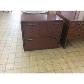 "20x35 1/2x30"" 2 Drawer Wood Lateral File (6/12/18)"
