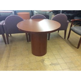 "36x29"" Wood Round Table (6/12/18)"