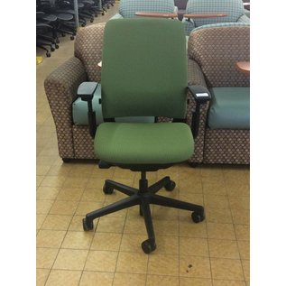 Green Desk Chairs w/ arms and Castors (6/12/18)