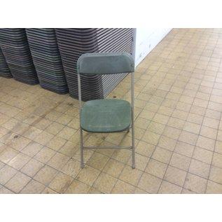 Green Plastic Folding Chair (6/25/18)