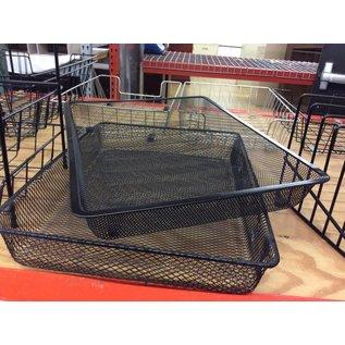 Wire mesh Paper Tray single tier (7/23/18)