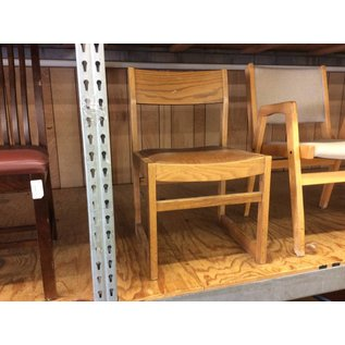 Wood student desk chair (8/15/18)