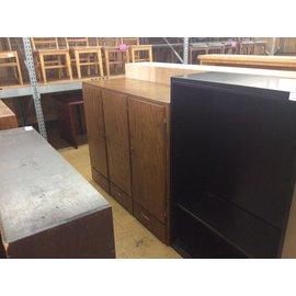 """23x60 1/4x48 1/2"""" Wood Storage Unit w/ Drawers (9/19/18)"""