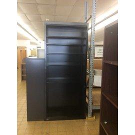 "12x36x84"" Black Metal Bookcase (8/14/18)"