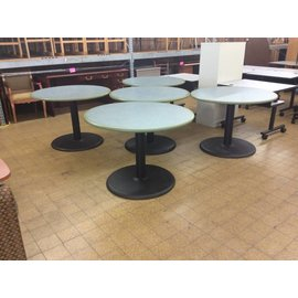 "42"" Round Table w/ Metal Base (8/14/18)"