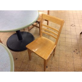 Wood dining chair (8-16-18)