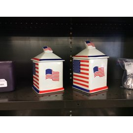 American Flag Canisters (8-16-18)