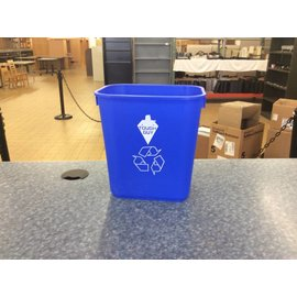Blue Recycle bin (8/17/18)