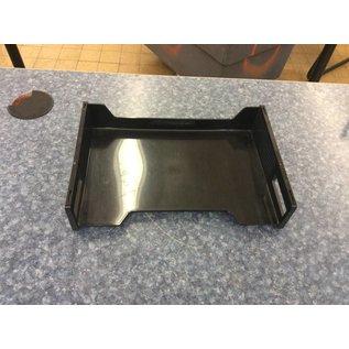 Black Plastic Paper Tray (8/24/18)