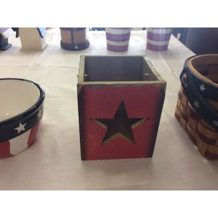 Wood star box (8/30/18)