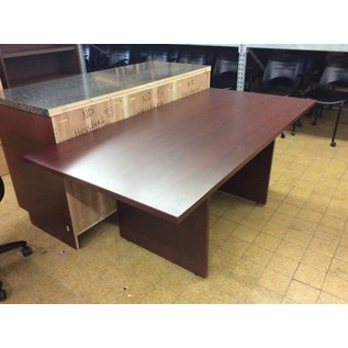 """36x72x29 1/4"""" Cherry wood conference table (9/10/18)"""