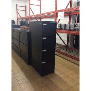 Black 4 Drawer File Cabinet (9/14/18)