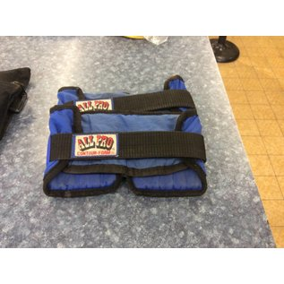 Ankle weights blue and black sets of 2
