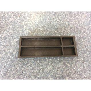 Black plastic desk drawer organizer (10/18/18)