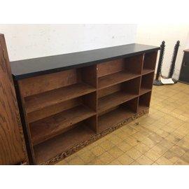 Wood counter top shelf 10/18/18