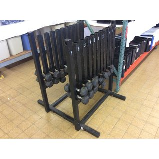 Metal Dumbbell Rack weights included (10-18-18)