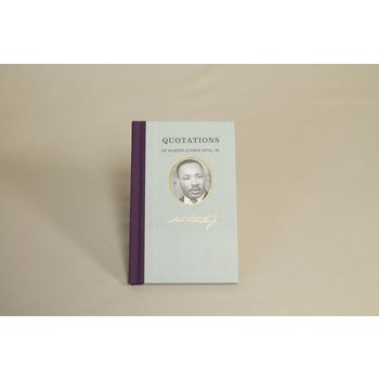 Civil Rights Hardcover book of memorable Dr. Martin Luther King, Jr. quotes.