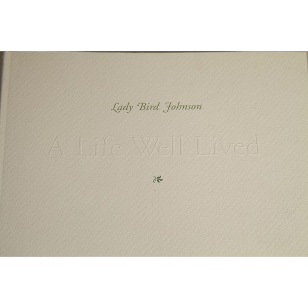 Lady Bird LADY BIRD JOHNSON: A LIFE WELL LIVED PAPERBACK MIDDLETON