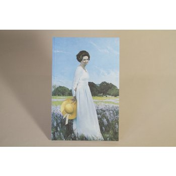 Lady Bird PAPERBACK. Short biography of Lady Bird Johnson. Cover depicts Mrs. Johnson standing in a field of wildflowers with the LBJ Ranch in the background, painted from life in 1978 at the LBJ Presidential Library by Aaron Shikler.