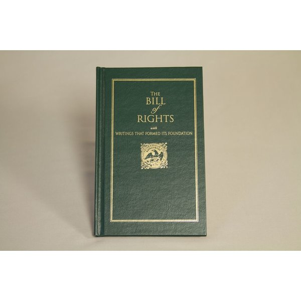 Patriotic THE BILL OF RIGHTS HARDCOVER