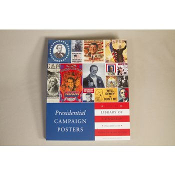 PAPERBACK. Coffee table sized book with 100 ready-to-frame political campaign posters throughout American history! The posters are backed with colorful historical commentary and additional artwork. Its the perfect gift for political junkies of all ages!