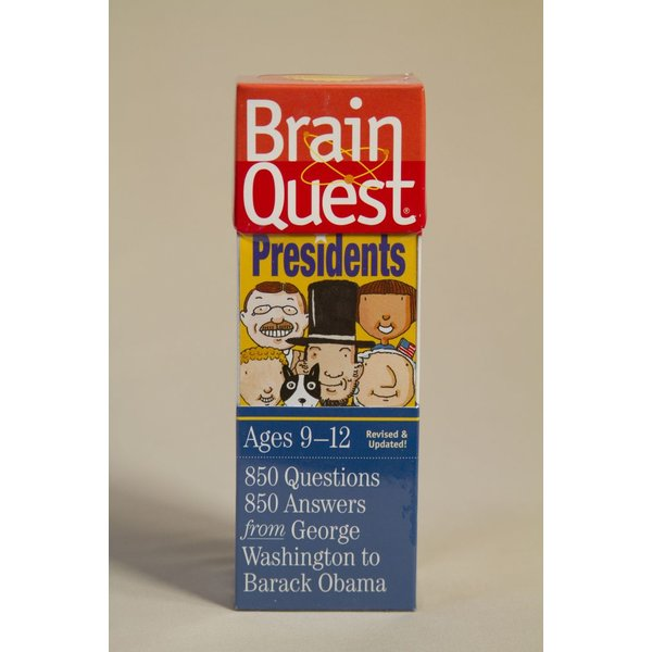 Just for Kids PRESIDENTS BRAIN QUEST TRIVIA GAME