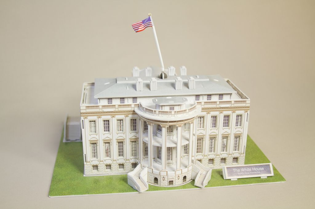 Just For Kids White House 3d Puzzle The Store At Lbj