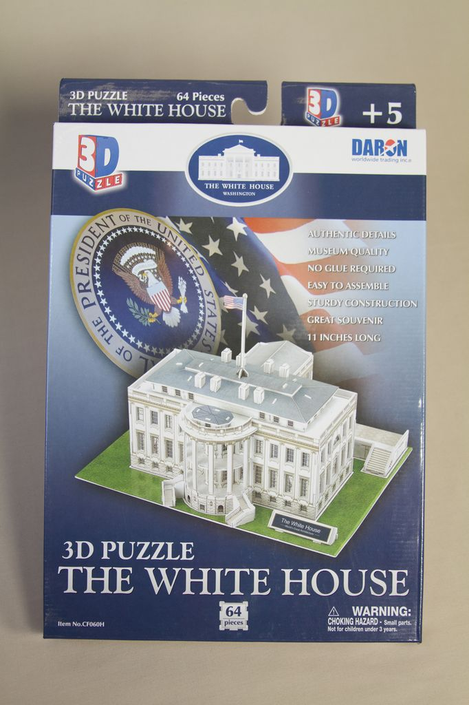 ... Just For Kids WHITE HOUSE 3D PUZZLE
