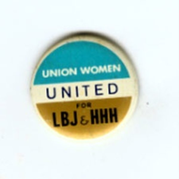 UNION WOMEN FOR LBJ